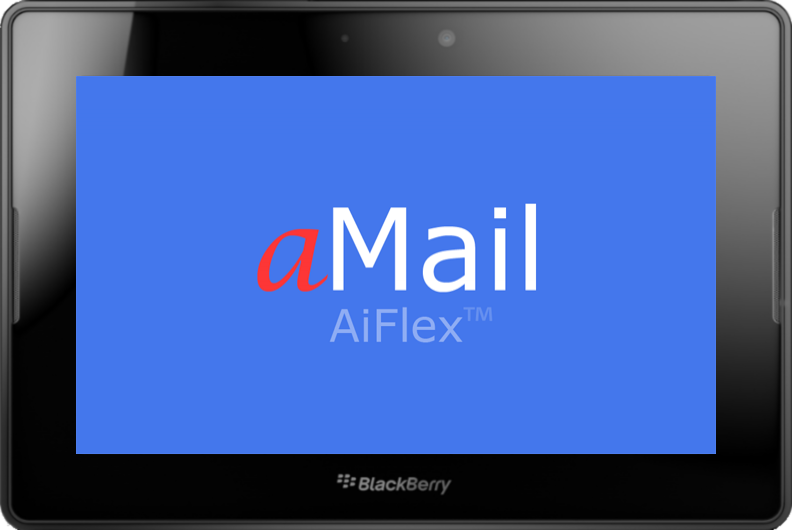 aMail - Blackberry Playbook email client